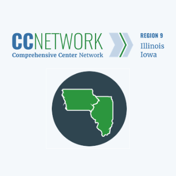 Region 9 Comprehensive Center icon and states