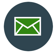 envelope for email contact icon